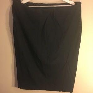 Pencil skirt Black 1X